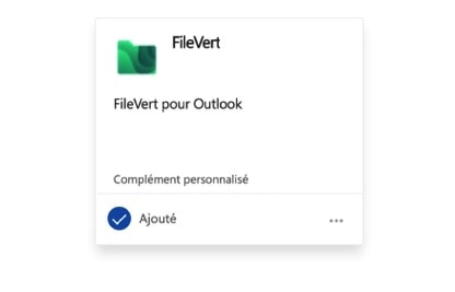 FileVert pour Outlook